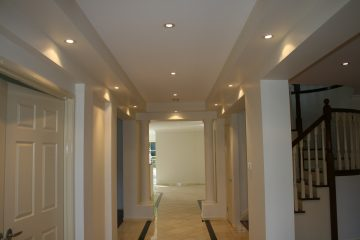 ceiling, wall woodworks